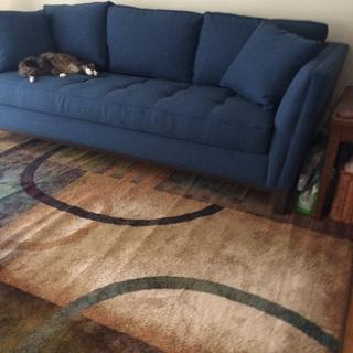 Love my new couch and rug! Thank you Erica for all your help.