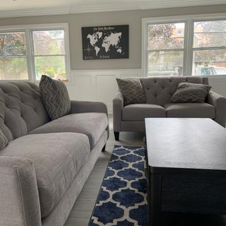 Love how these couches look! And so comfortable