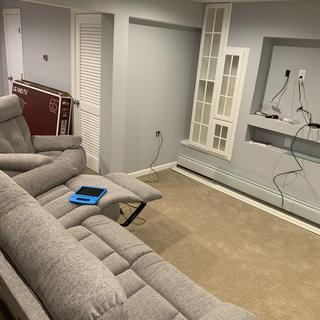 Making a man cave and these couches are very comfortable and operate smoothly.