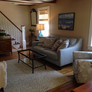 Inspired by an interior designer, Denise helped create the  total look! Staged this home for sale .