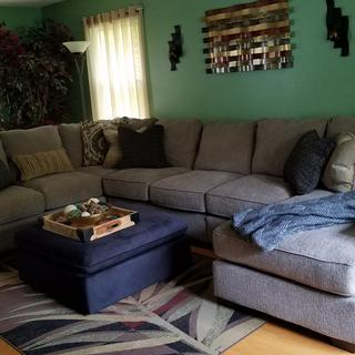 Love our new sectional!