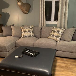 We love our sectional it's exactly what I wanted and was looking for. Super comfy!