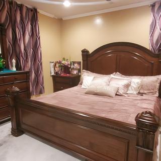 I love my 4 piece bedroom set.