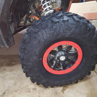 Patrick F. photo of Maxxis Carnivore Tires (Front/Rear)