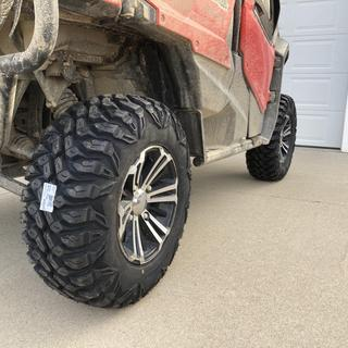 Andy G. photo of Quadboss QBT846 Radial Utility Front/Rear Tire