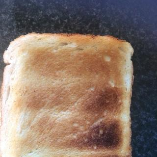 The other side of the same piece of toast