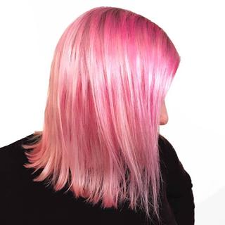Add some colour to your day.. Easy to use just shampoo in and wash out. Love it!!