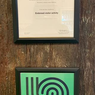 Vertical certificate frames from The Warehouse!