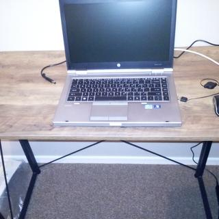 My new folding computer desk.