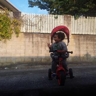 My son loves his 3-in-1 Trike 🙌😁