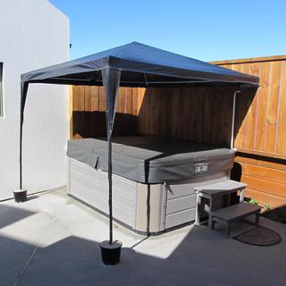 Spa Pool Shelter