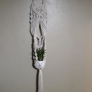 Made with Uniti Macrame rope.