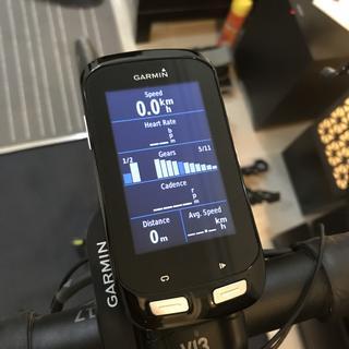 Transmits data to your Garmin device.