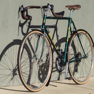 Bianchi Portofino randonneur bike.