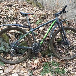 Muddy ride.