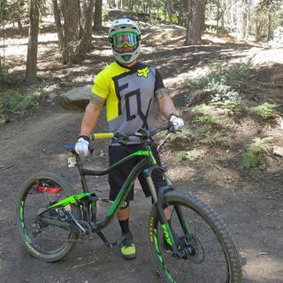 Snow Summit downhill bike park