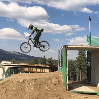 Taking on the Proline jump session at Big Bear California