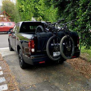 Mountain Bike Pad Bike Rack Crash Pad Tailgate Pad Full Size