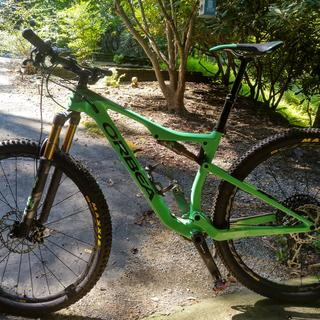 Orbea Oiz M10 XC/TR bike. Great for XC racing and TR riding