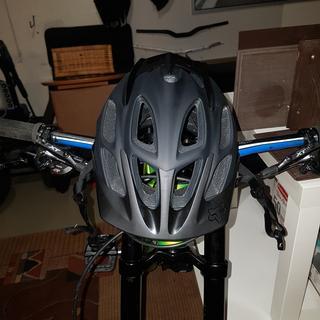 Front shot of the helmet