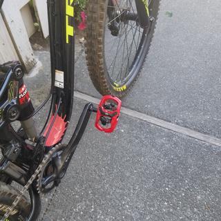 Love this pedals. Makes the bike really pop!