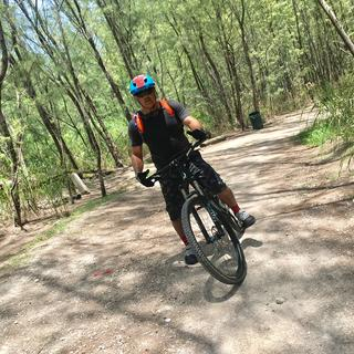 VK Trails with my new Fox helmet