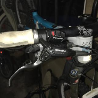 New front and back Shimano brakes