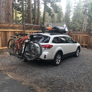 Great hitch rack. Just went on a 3000 mile trip and it performed perfectly.