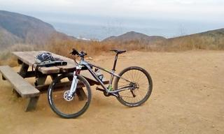 Pt. Mugu State Park ripping it up.  See all my reviews at xc-mountainbike com