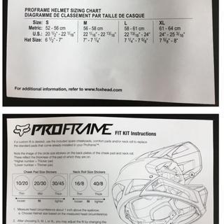 Fox Proframe Full Face Mtb Helmet Jenson Usa