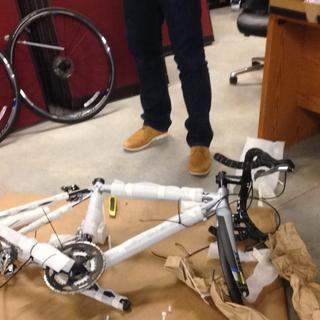 Assembling the bike :)