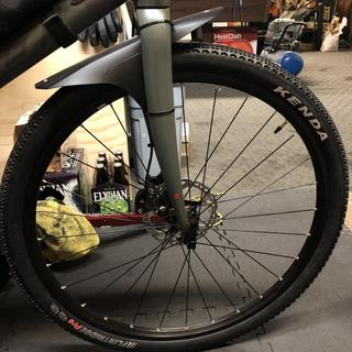 Fit perfectly even with a mud guard...