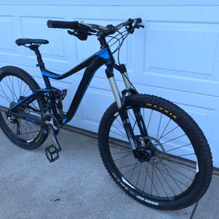 2015 Giant Trance Advanced 2 with Renthal Fatbar 780mm Wide 20mm Rise