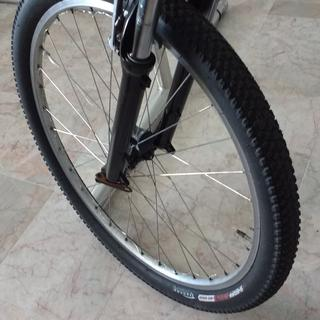 Front of Trek 8000 with RST fork