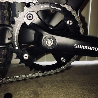 I love the my new chainring!!!!????????????. Highly recommended.??