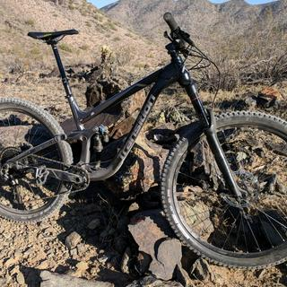 DHR II for the brutal AZ terrain.