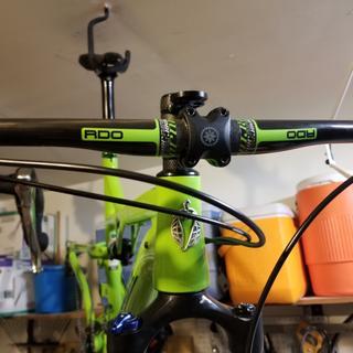 Lighter than my carbon Thomson Trail  bar :)
