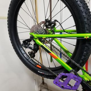New SRAM 9 speed cassette in the Cannondale Cujo 24