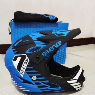 Perfect fit, very Light @ 950 grams Well ventilated FF downhill helmet at the best price