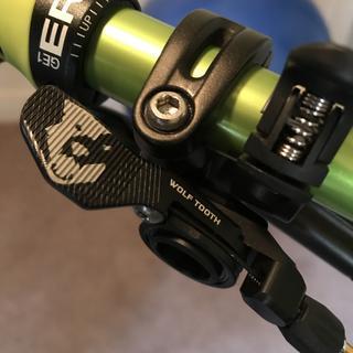 Remote on left brake lever