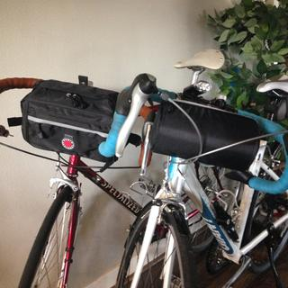 My wife & I use both sizes of the Banjo Brothers handlebar bags.  They're great!