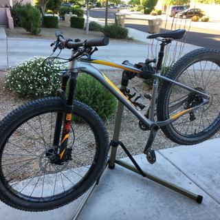 Specialized fuse  pro with Shimano PD-M647 pedal