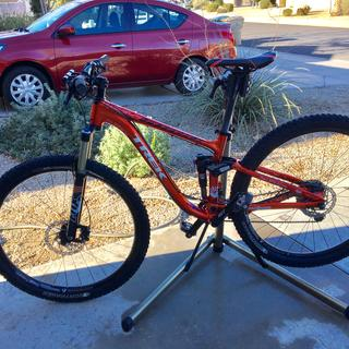 Trek fuel ex7 with Shimano PD-M647 pedal