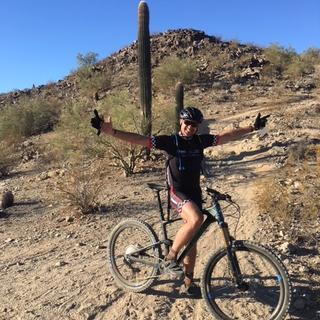 1st ride at South Mountain in Phoenix, AZ