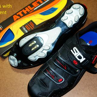 New Sidi's with replacement insoles.
