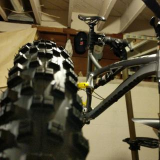 New tire going on my DiamondBack release