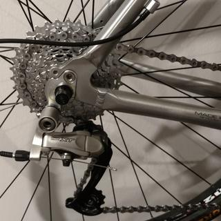 Installed in Trek 7700FX