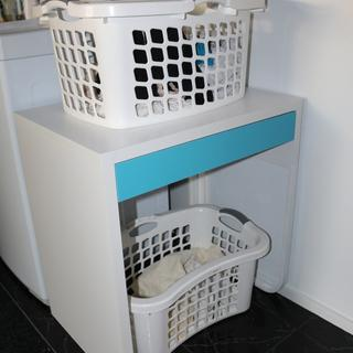 A great laundry work station too!
