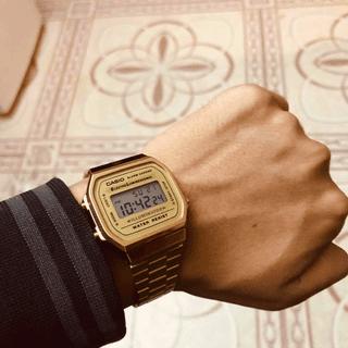 b83b558f822b Reloj para caballero Casio Vintage A168WG-9VT Precio Sugerido