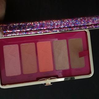 Si sacas los blushes entra un celular y tus ID hasta un lipstick